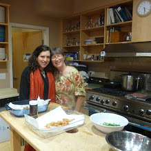 Photo: Emily and Sheryl -helpers to make pakoras .jpg