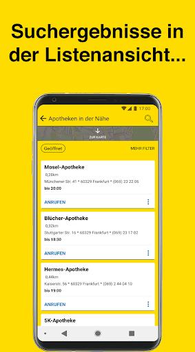 Gelbe Seiten Notfall-App  screenshots 3