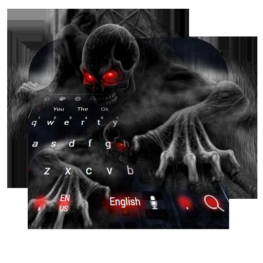Horror Skull Keyboard