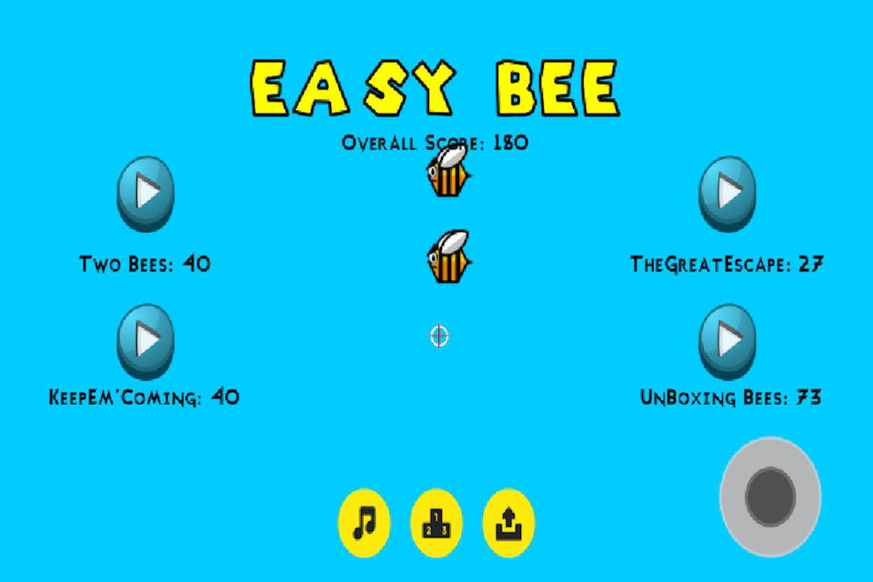 Easy Bee - Dodge the Bees GG- screenshot