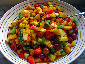 Photo: hot Thai mixed fruit salad