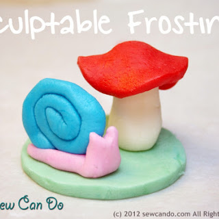 SCULPTABLE FROSTING BY CHERYL OF SEW CAN DO