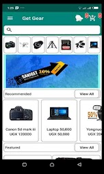 Get Gear - Hire photography gadgets APK screenshot thumbnail 2