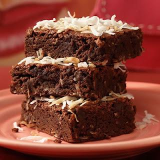 Coconut Brownies.