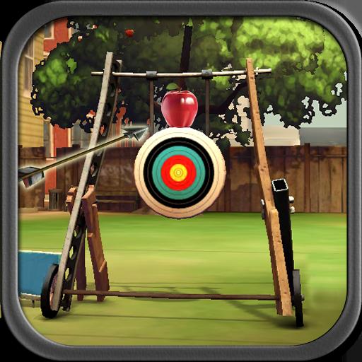 リンゴのアーチェリー練習 街機 LOGO-玩APPs