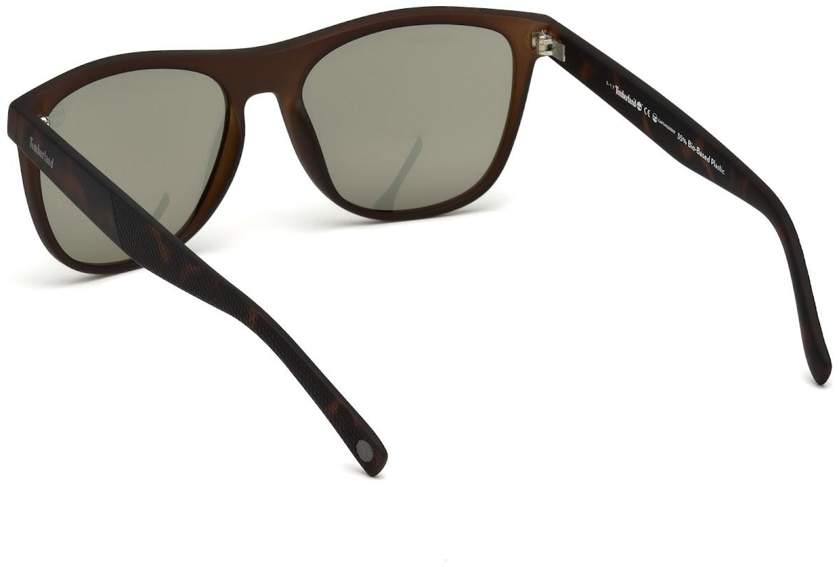 fcb91c0fb4d0 Polarized Sunglasses Timberland TB9124 C56 97R (matte dark green / green  polarized)