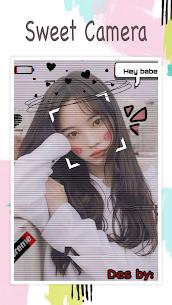 Live face sticker sweet camera 3