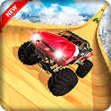Tricky Mega Ramp Stunts Monster Truck 3D icon