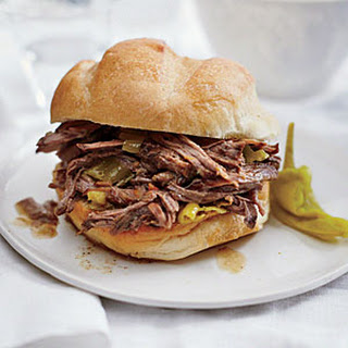 Tangy Italian Beef Sandwiches Recipe