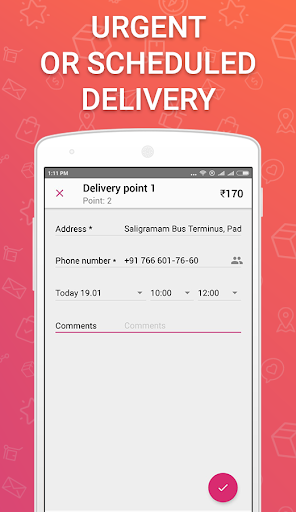 Wefast u2014 Courier Delivery Service 1.24.3 screenshots 2