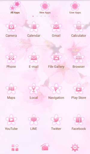 Lovely Theme-Cherry Blossoms- 1.0.0 Windows u7528 3