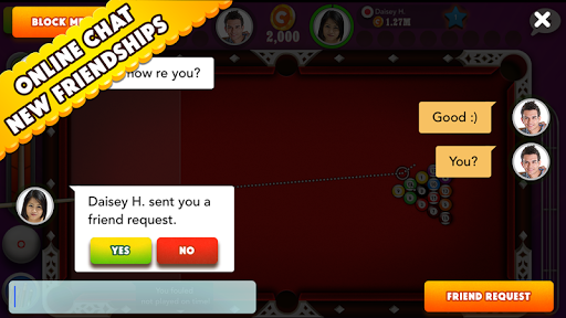 Pool Strike Online 8 ball pool billiards with Chat screenshot 10