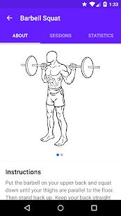 Progression - Fitness tracker- screenshot thumbnail
