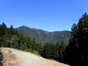 白屋岳(空は快晴のまま)