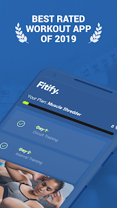 Fitify Workout Routines & Training Plans 1.5.5 Unlocked 1