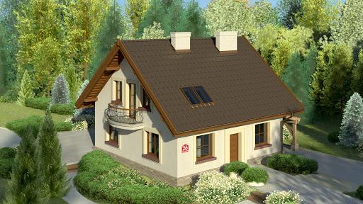 projekt Dom przy Cyprysowej 26