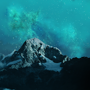 Parallax 3D Wallpaper: Galaxy Skyline, nature HD