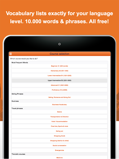 Learn German Vocabulary Free for PC