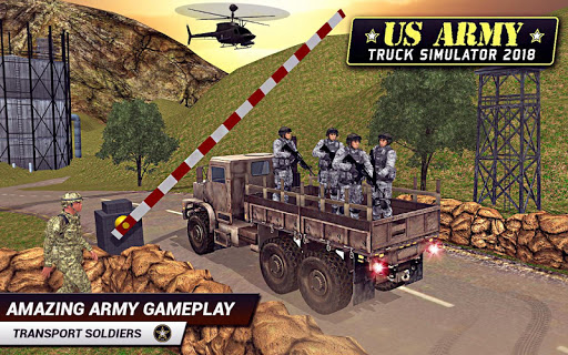 US Army Truck Driving 2018: Real Military Truck 3D Apk 1