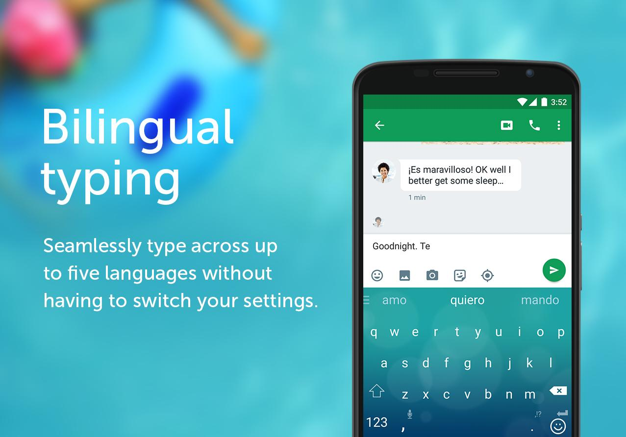 SwiftKey Keyboard– captură de ecran