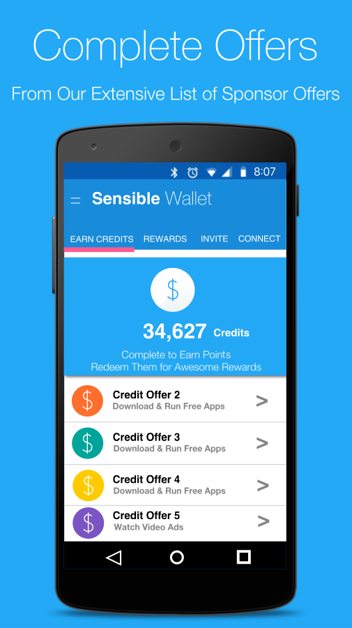 Sensible Wallet - Earn Money - Android Apps on Google Play