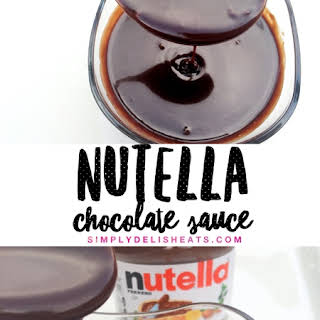 Nutella Sauce Recipes.