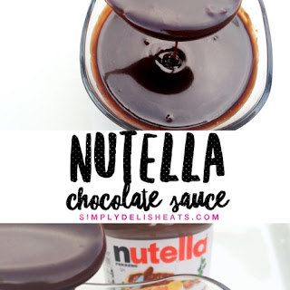 Nutella Sauce Recipes.