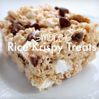 S'mores Rice Krispy Treats