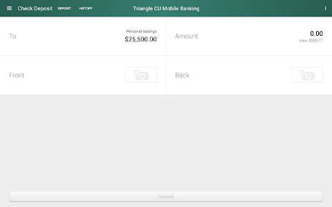 Triangle Credit Union screenshot 9