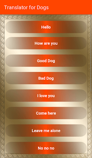 Translator For Dogs screenshot 2