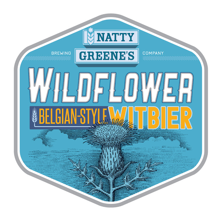 Logo of Natty Greene's Wildflower Witbier