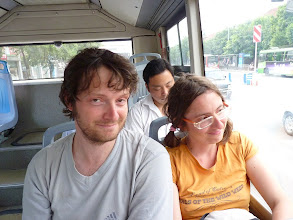 Photo: Chengdu - Peter (NZ!) and Sabi which I've met on last stop before Chengdu from Songpan