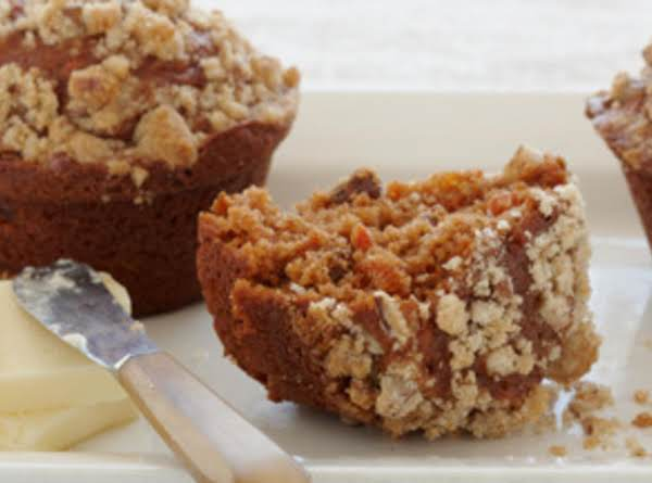 Crumble Top Carrot Raisin Muffins Recipe