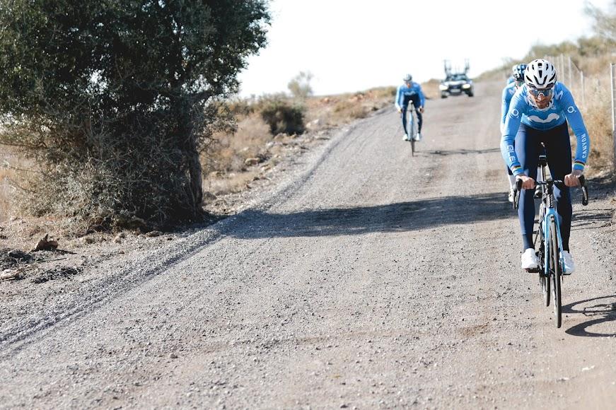 No todo fue buen asfalto para los deportistas. Hay que adaptarse.
