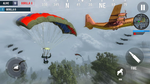Gorilla G Unknown Simulator Battleground  screenshot 11
