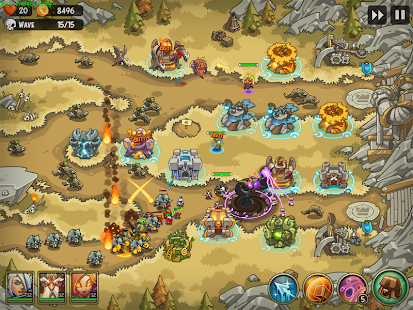 Empire Warriors Premium Tower Defense Games apk