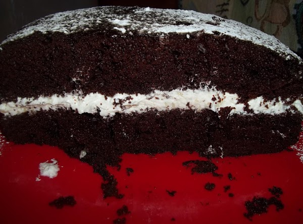 You could make this cake with only one cake. Cutting it in half. If...
