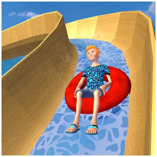 Water Slide Super Hero Adventure