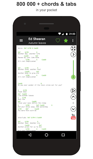 Guitar chords and tabs 2.9.35 screenshots 1