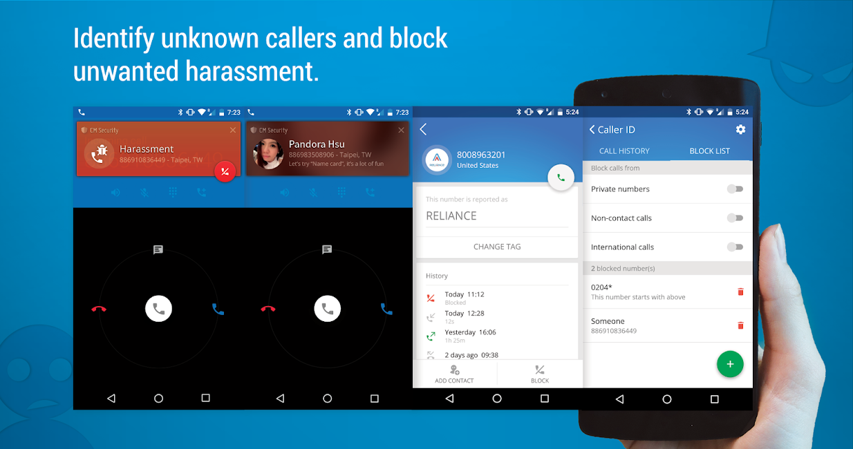 #3. CM Security AppLock AntiVirus (Android)