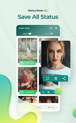 status saver for whatsapp - status download & save screenshot 1