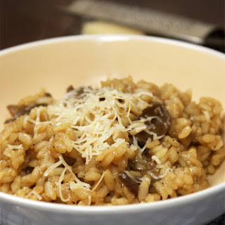 Mushroom and Ale Risotto