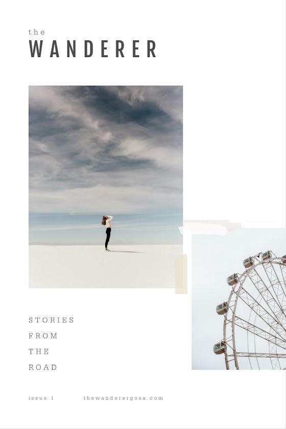 The Wanderer Collage - Pinterest Pin Template