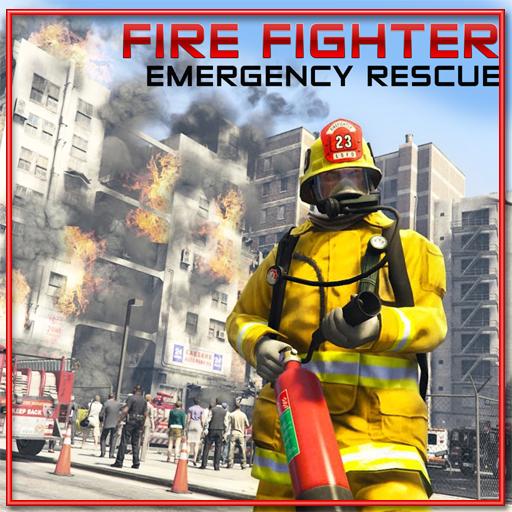 FireFighter Emergency Rescue Sandbox Simulator 911