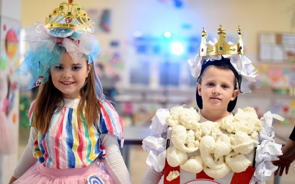 Karneval žiakov 1. a 2.ročníka