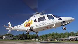 Helicóptero del Servicio de Emergencias Sanitarias 061