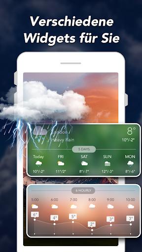 Wettervorhersage & Widgets & Radar screenshot 7