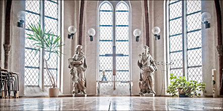 Photo: Winterkirche in Boizenburg an der Elbe