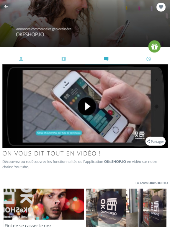 OKeSHOP.iO – Capture d'écran