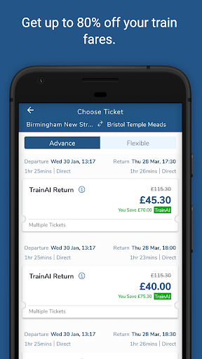 TrainAI - Cheaper UK Train Tickets 2.0.01 androidtablet.us 2